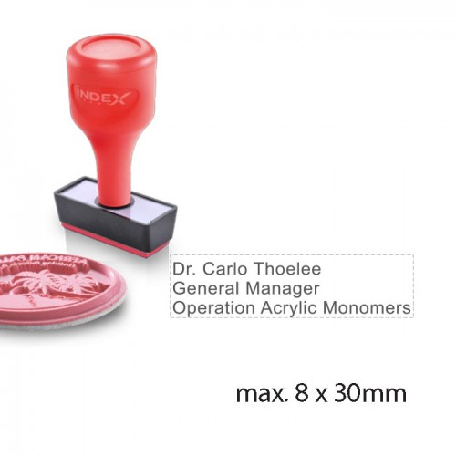 rubber stamp RS830