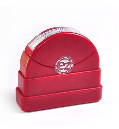 ez pre-inked stamp/ flash stamp